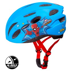 KASK ROWEROWY IN-MOLD SPIDERMAN